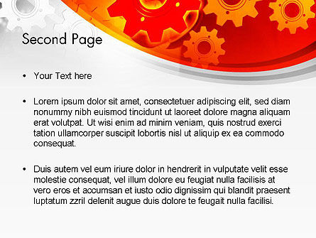 Businessman Solution Concept PowerPoint Template, Slide 2, 13517, Business Concepts — PoweredTemplate.com