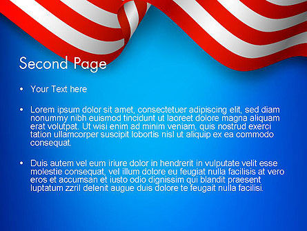 American Patriotism PowerPoint Template, Slide 2, 13518, America — PoweredTemplate.com