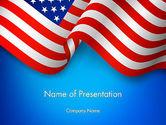 America: American Patriotism PowerPoint Template #13518