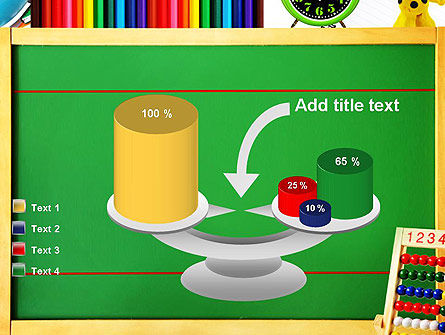 School Supplies Border PowerPoint Template Slide 10