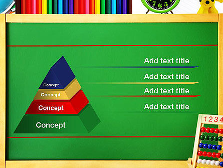 School Supplies Border PowerPoint Template Slide 12