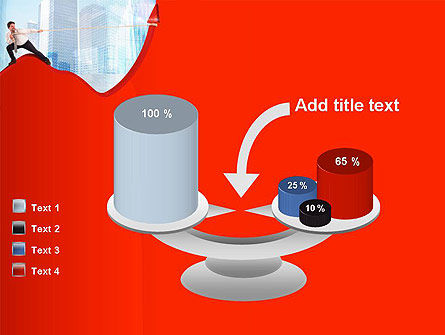 Strong Increase PowerPoint Template Slide 10