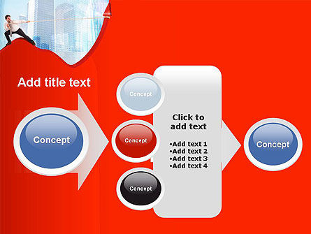 Strong Increase PowerPoint Template Slide 17