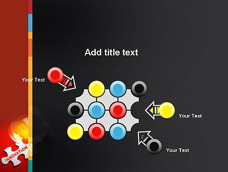 Innovation Puzzle Piece PowerPoint Template Slide 10