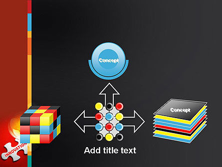 Innovation Puzzle Piece PowerPoint Template Slide 19