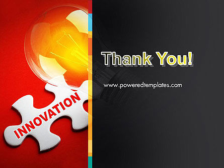 Innovation Puzzle Piece PowerPoint Template Slide 20