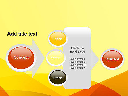 Abstract Fields PowerPoint Template Slide 17