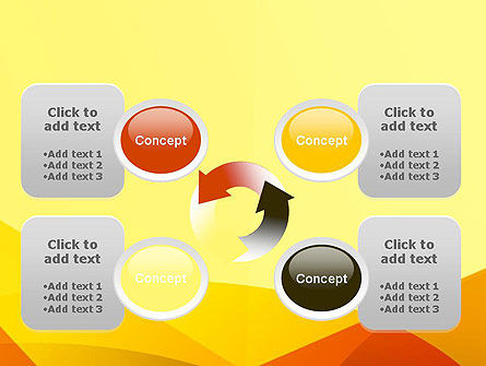 Abstract Fields PowerPoint Template Slide 9