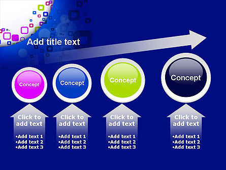 Abstract Rounded Squares PowerPoint Template Slide 13