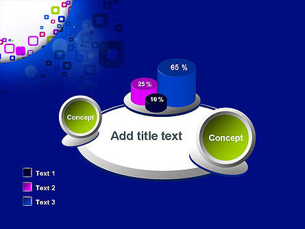 Abstract Rounded Squares PowerPoint Template Slide 16