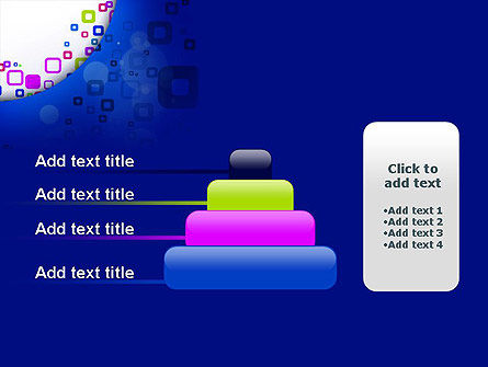 Abstract Rounded Squares PowerPoint Template Slide 8