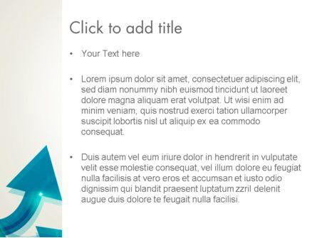 Wavy Arrows PowerPoint Template, Slide 3, 13530, Business Concepts — PoweredTemplate.com