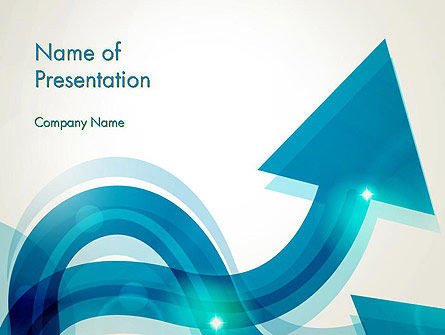 Wavy Arrows PowerPoint Template