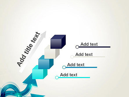 Wavy Arrows PowerPoint Template Slide 14