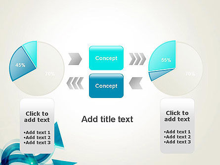Wavy Arrows PowerPoint Template Slide 16