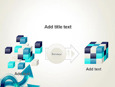 Wavy Arrows PowerPoint Template Slide 17