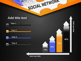 Social Network Puzzle Piece PowerPoint Template#8