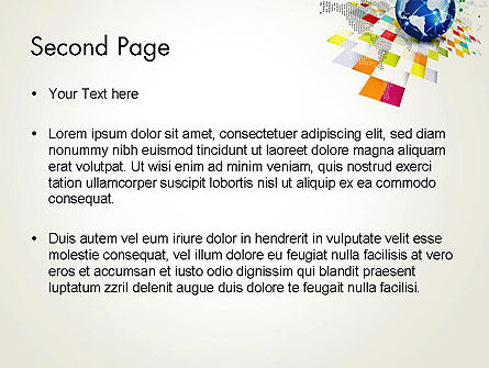 Technology World Concept PowerPoint Template, Slide 2, 13532, Technology and Science — PoweredTemplate.com