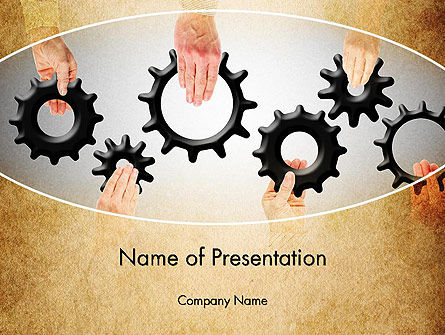 Business Concepts: Building a System PowerPoint Template #13533