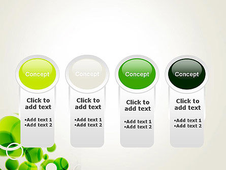 Green Circles Abstract PowerPoint Template Slide 5