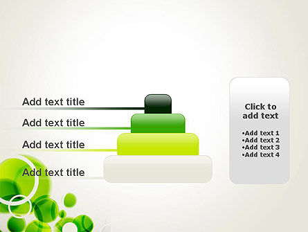 Green Circles Abstract PowerPoint Template Slide 8