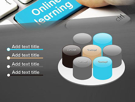 Online Learning Keyboard PowerPoint Template Slide 12