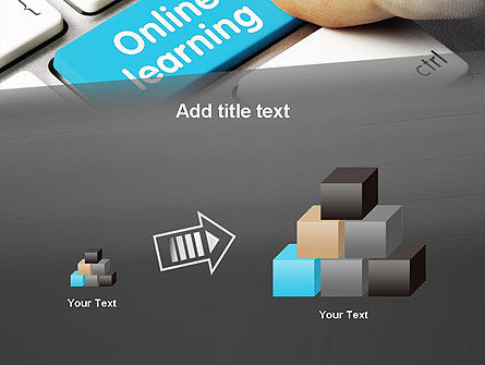 Online Learning Keyboard PowerPoint Template Slide 13