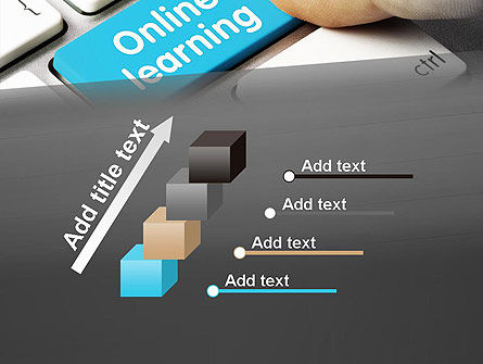 Online Learning Keyboard PowerPoint Template Slide 14