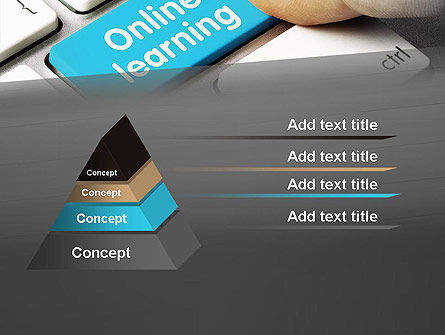 Online Learning Keyboard PowerPoint Template Slide 4
