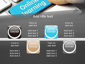 Online Learning Keyboard PowerPoint Template#18