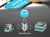 Online Learning Keyboard PowerPoint Template#19