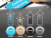 Online Learning Keyboard PowerPoint Template#7