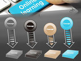 Online Learning Keyboard PowerPoint Template#8