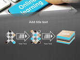 Online Learning Keyboard PowerPoint Template#9