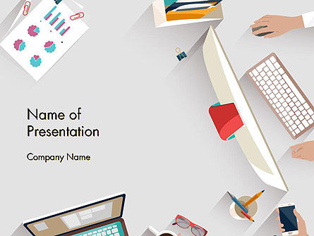 Business Concepts: Business Meeting And Brainstorming PowerPoint Template #13536
