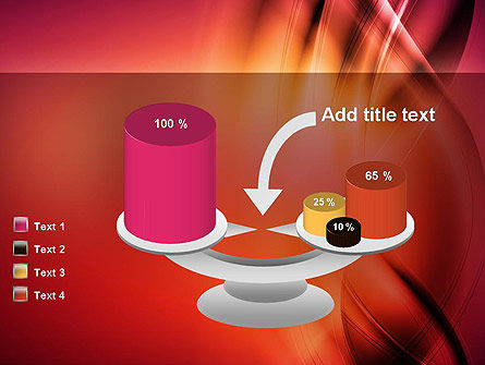 Abstract Wavy PowerPoint Template Slide 10