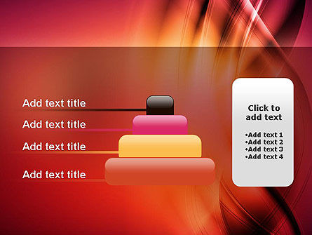 Abstract Wavy PowerPoint Template Slide 8