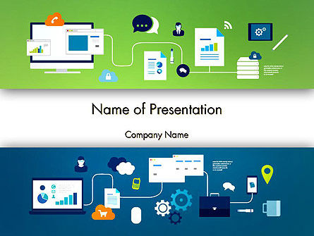 Business Process Management PowerPoint Template, 13541, Business Concepts — PoweredTemplate.com