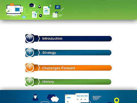 Business Process Management PowerPoint Template, Slide 3, 13541, Business Concepts — PoweredTemplate.com