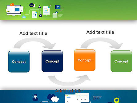 Business Process Management PowerPoint Template, Slide 4, 13541, Business Concepts — PoweredTemplate.com