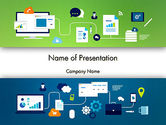 Business Concepts: Business Process Management PowerPoint Template #13541