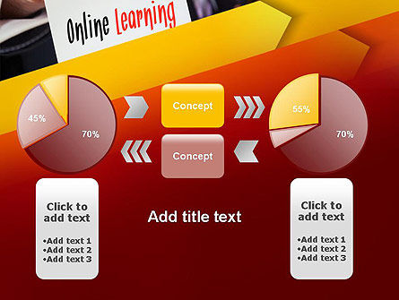 Online Learning Services PowerPoint Template Slide 16