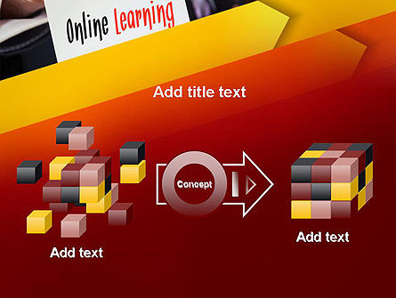 Online Learning Services PowerPoint Template Slide 17