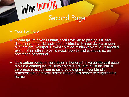 Online Learning Services PowerPoint Template Slide 2