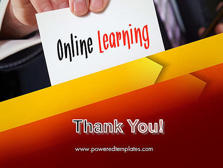 Online Learning Services PowerPoint Template Slide 20