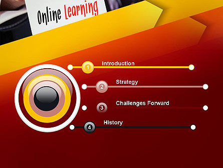Online Learning Services PowerPoint Template, Slide 3, 13543, Education & Training — PoweredTemplate.com