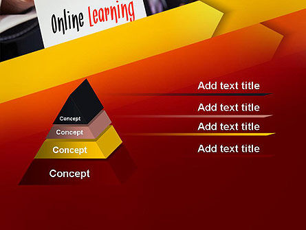 Online Learning Services PowerPoint Template, Slide 4, 13543, Education & Training — PoweredTemplate.com