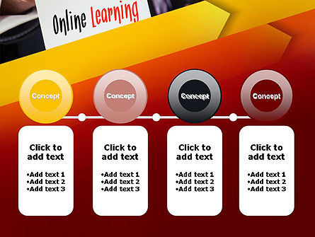 Online Learning Services PowerPoint Template Slide 5