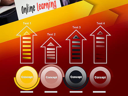 Online Learning Services PowerPoint Template Slide 7