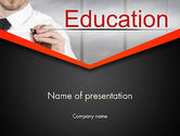 Education & Training: Personal Improvement PowerPoint Template #13544
